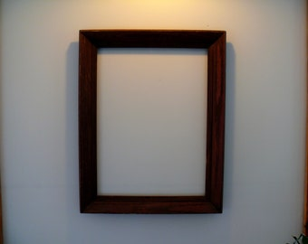 Recycled oak wood frame