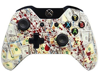 BLOODY BENJAMINS Xbox One Rapid Fire Modded Controller Pro Finish