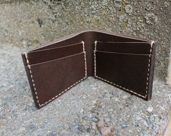 Men's Bifold Leather Wallet | Elbert Wallet | Men's Wallet | Horween Wallet