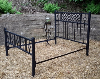 Unique Design, Quality-fabricated Headboard, Footboard and Rails