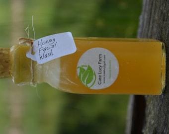 All Natural Honey Facial Wash