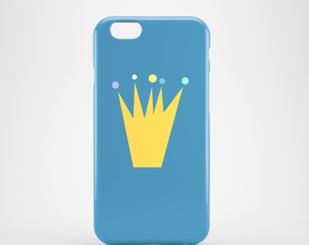 Fit for the Prince phone case / Crown iPhone 7 case / blue iPhone 7 Plus case / iPhone 6 / iPhone 6S / Samsung Galaxy S7 / Galaxy S6