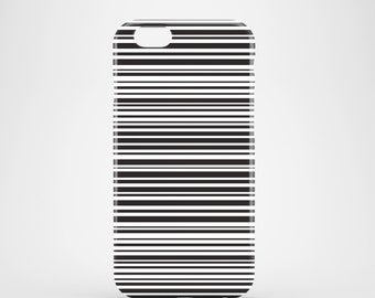 Zebra iPhone 7 case / Black and White stripes phone case / iPhone 6, 6S / iPhone 5/5S / Samsung Galaxy S6, S5 / minimalist