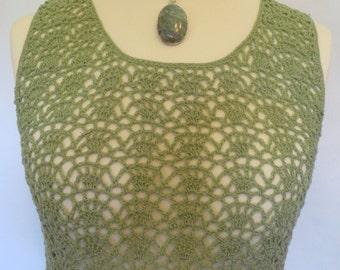 Crocheted Summer Dress