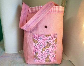 shopping bag,handmade,heavy canvas,natural vegetable dye