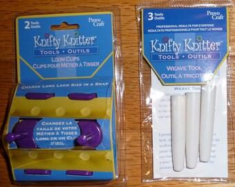 knifty knitter instruction booklet