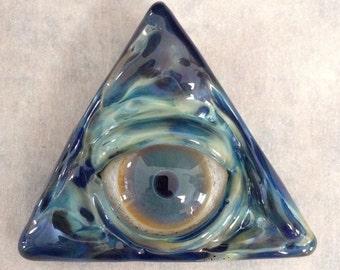 Pyramid Eye Pendant 2