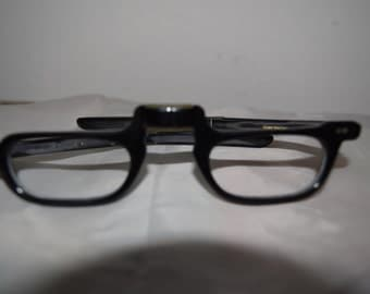 American Optical Vintage Folding Reading Glasses