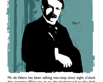 David Lloyd George on Eamon de Valera