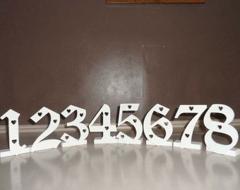 Wedding table my numbers