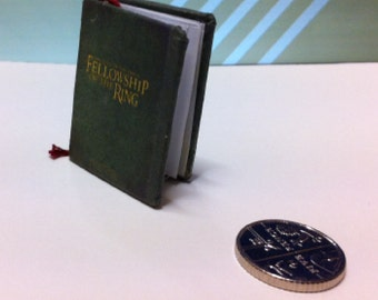 Miniature Fellowship of the Ring book