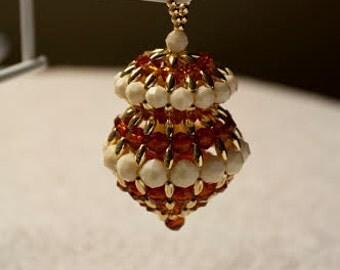 Bead Acorn - Ornament/Decoration/Party Favor
