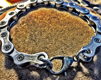 53/11 Chain Bracelet - mens bike chain bracelet