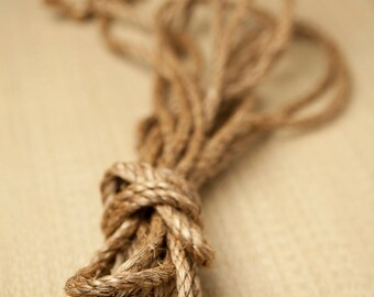 Manila hemp rope
