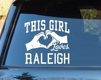 Raleigh Sticker Etsy - Custom vinyl decals raleigh