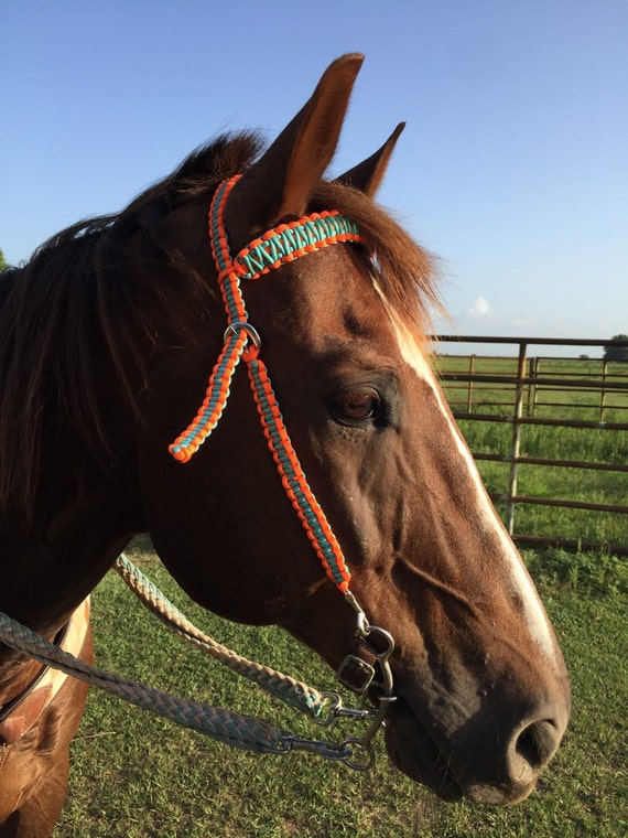 Braided paracord horse bridle by wildriverartandesign on etsy for Paracord horse bridle