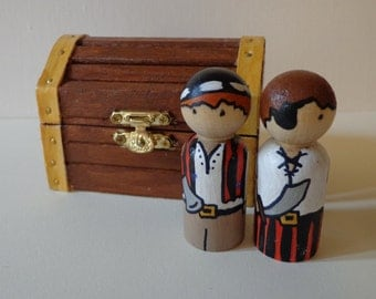 Pirate Peg Doll Play Set