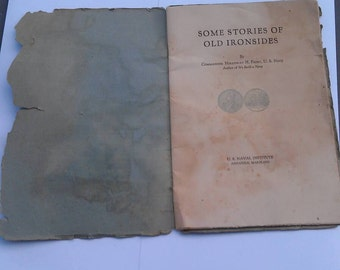 Booklet Some Stories of Old Ironsides