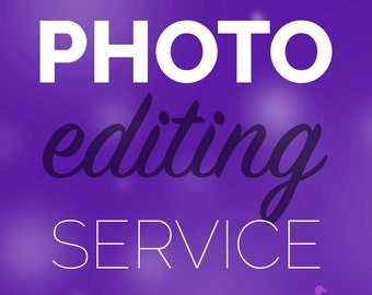 Photo Editing & Retouching Service