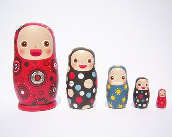 Nesting Dolls <RED HOOD>
