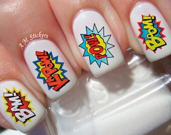 Generous Chanel Nail Polish Small Little Mermaid Nail Art Clean Painted Nail Art Coke Nail Polish Youthful Nails With Nail Art DarkHow To Get Rid Of Foot Nail Fungus Marvel Nails \u2013 Etsy