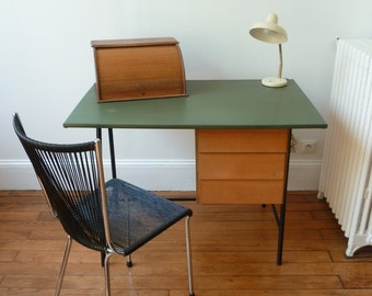 Small office in the 1950s