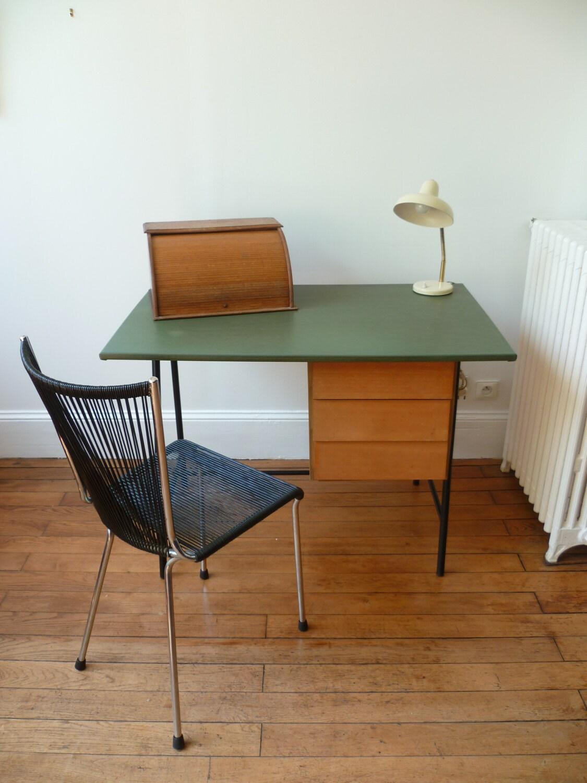 Petit bureau des ann es 50 haute juice - Petit bureau vintage ...