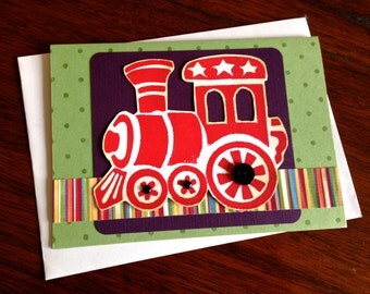 Red Train Card