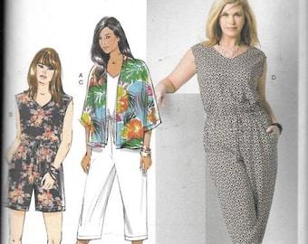 Womens Kimono, Jumpsuit New Butterick Sewing Pattern 6224 Size18/24