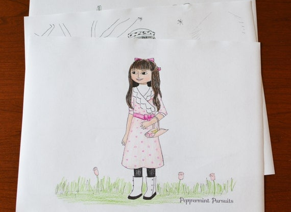 Samantha Name Coloring Pages American Girl Samantha