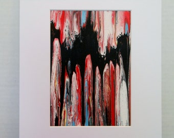 Original Abstract Painting 5x7