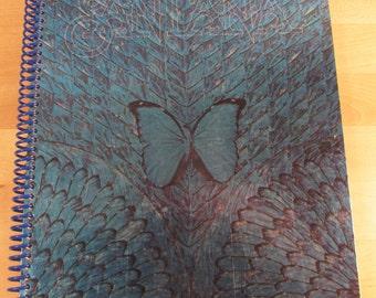 Santana Borboletta Album Cover Sketchbook - Journal - Notebook - Scrapbook
