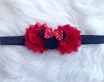 Minnie Mouse Red Headband-Baby-Toddler