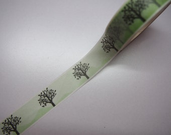 Cute Tree Leaves washi tape for Scrapbooking, Journalling and Planning!