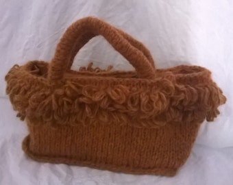 autumn wool handbag
