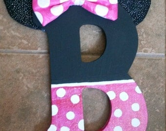 Minnie Mouse Customized Letter