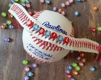 Personalized Baseball/T-Ball Bracelet!!