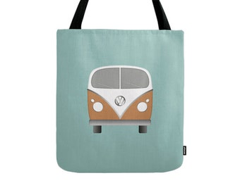 VW tote bag VW bag VW canvas tote shopping bag summer tote bag shopping canvas bag Volkswagen canvas tote blue canvas bag volkswagen tote