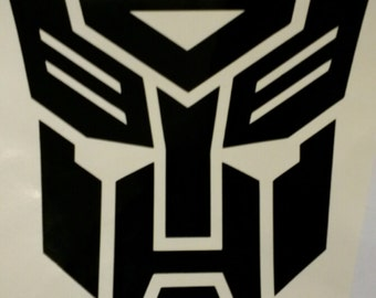 Transformers Autobot Vinyl Decal Sticker - Free delivery!