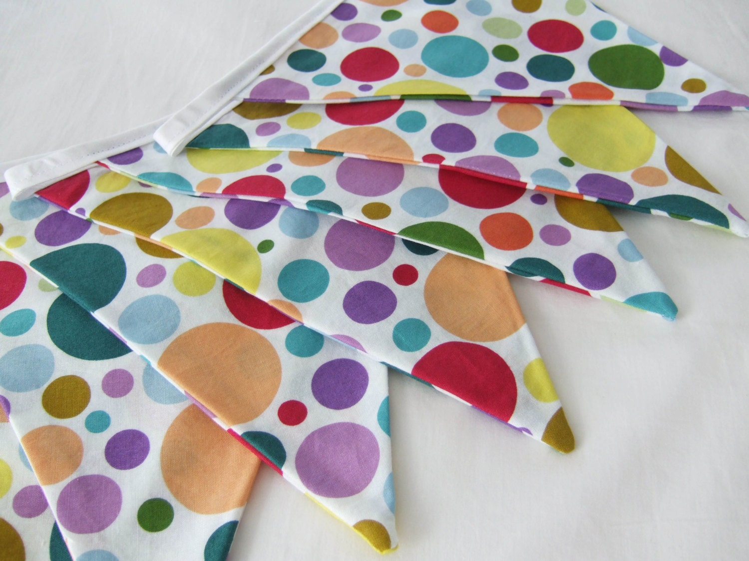polka dot party flags - photo #27