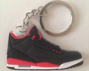 Jordan Keychain 3 III Crimson keychain