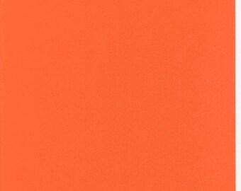 Oilcloth tablecloth metre of unicoloured uni UNI 021 orange