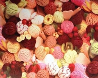Oilcloth tablecloth metre ice balls W860