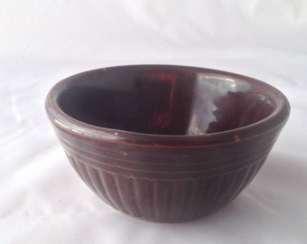 Vintage Small Stoneware Bowl