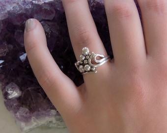 Size 7.5 Coalescence Bubble Ring