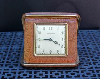 Vintage Industrial Travel Alarm with Sentiment