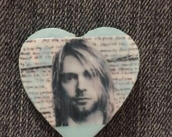Kurt Cobain Pin