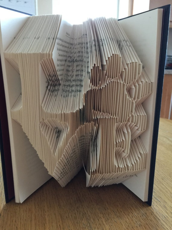 love with paw print book folding pattern 223 folds
