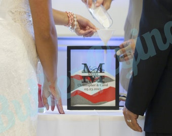 Personalized Sand Ceremony Frame