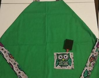Owl Print Apron